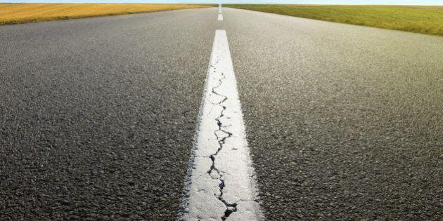 El estado de las carreteras españolas es tan malo como en