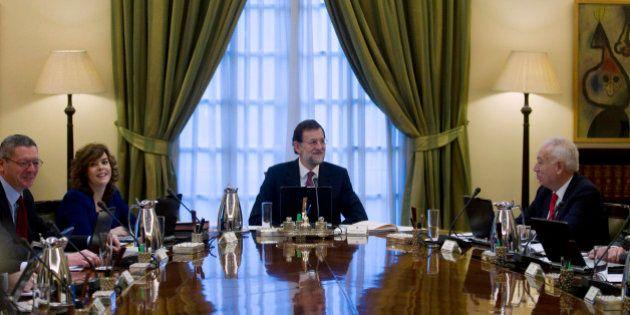Dos años de la victoria del PP: Las imágenes de Rajoy al frente del