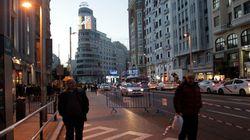 Falsa alarma en Madrid: desalojan parte de la Gran Vía por una maleta