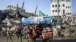 Así es un día en Gaza sin bombas