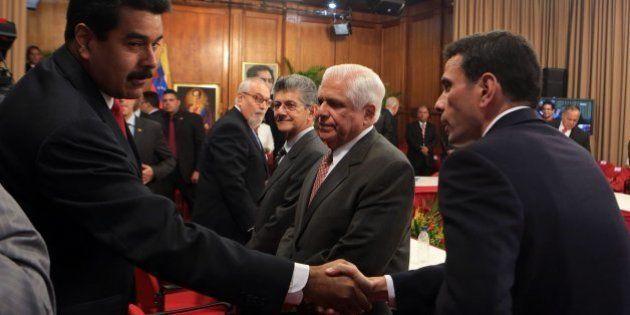 Maduro y la oposición empiezan un diálogo sin