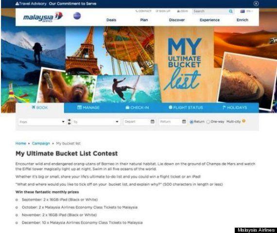 Malaysia Airlines pide perdón tras tuitear este