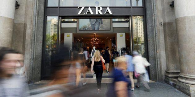 Inditex inaugura una 'macrotienda' Zara en el centro de Barcelona en plena
