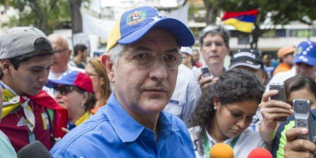 Detenido el alcalde de Caracas, Antonio Ledezma, por