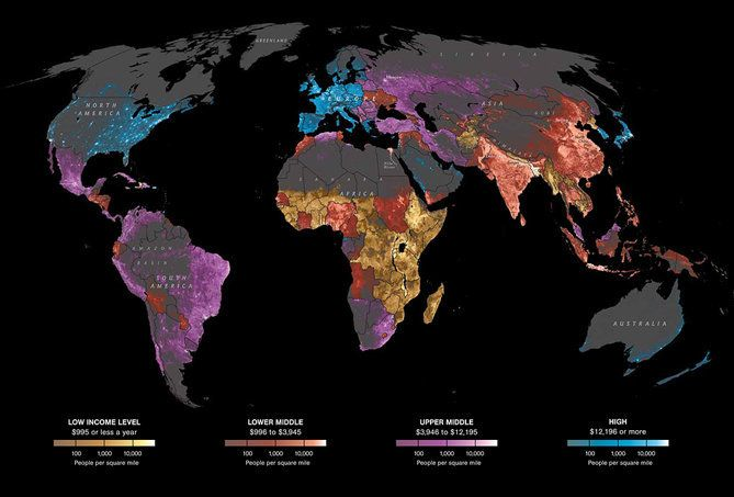 8 mapas que cambiarán tu visión de