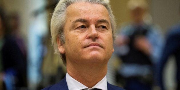 Wilders, condenado (sin pena) por incitar a la discriminación de