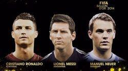Cristiano, Messi y Neuer, candidatos al Balón de