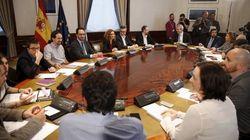 Las imágenes de la reunión 'a