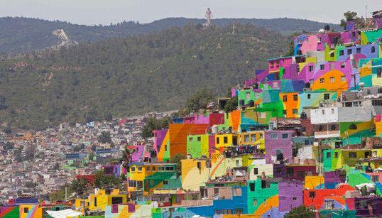Color y arte contra la violencia en Pachuca