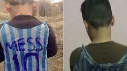 La foto que estremeció a Messi huele fatal: mira el niño que han