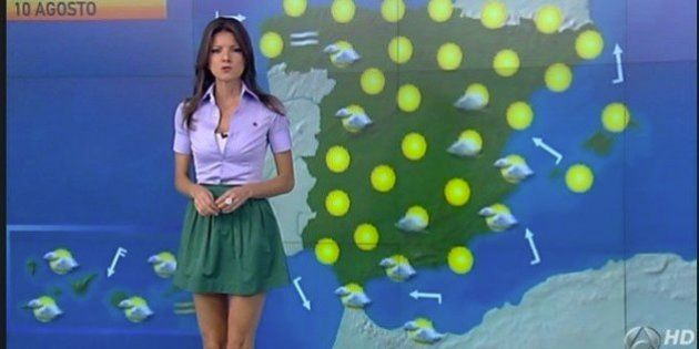 Pierden 1,7 millones de euros por la presentadora del tiempo de Antena