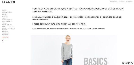 La marca de ropa Blanco anuncia su