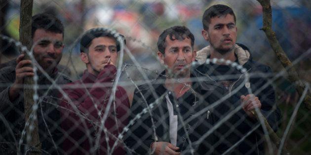 GEVGELIJA REFUGEE CAMP, GEVGELIJA, SOUTHEASTERN REGION, MACEDONIA - 2016/03/06: Migrants in the camp...