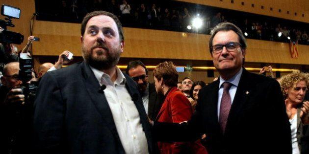 Junqueras rechaza la lista unitaria de Mas y propone compartir