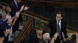 Rajoy, presidente del Gobierno gracias a la abstención de un resquebrajado