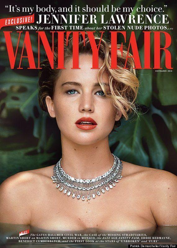 Jennifer Lawrence habla del robo de sus fotos íntimas y explica por qué se las
