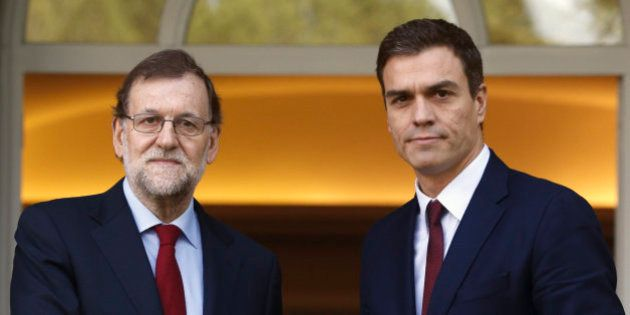 Rajoy acuerda por teléfono con Sánchez y Rivera reuniones la semana que