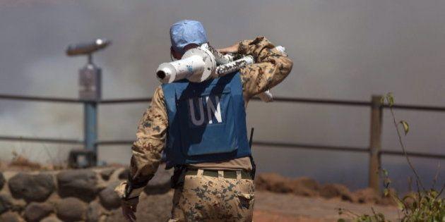 Siria: 43 cascos azules de la ONU, detenidos por un grupo armado en los Altos del
