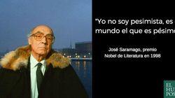 Las seis frases de Saramago que te harán