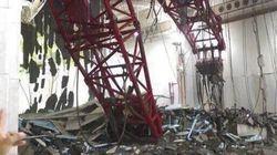 Al menos 87 muertos al caer una grúa en la mezquita de La