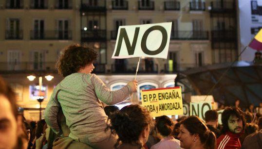 Los FOTONES de la manifestación 'Rodea el