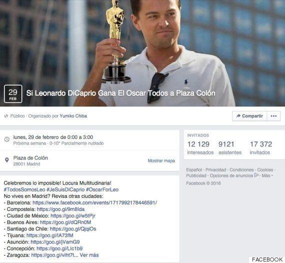 Si Leonardo DiCaprio gana el Oscar... ¡se va a liar la