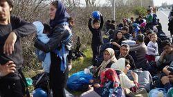Miles de refugiados están atrapados en Grecia y los
