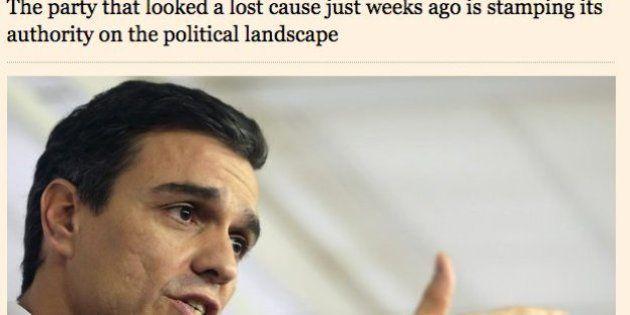 Sánchez y el PSOE renacen de los muertos, según el
