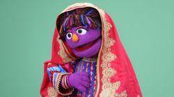 Zari, la 'muppet' afgana que viene a pelear por los derechos de la