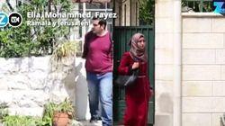 Un amor separado por el muro de Cisjordania