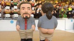 Pablo Iglesias, la gran novedad 'caganer'