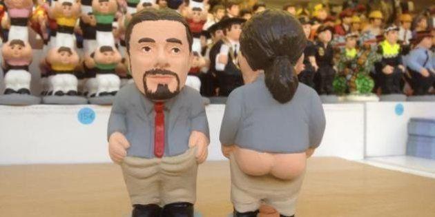 Pablo Iglesias, la gran novedad de los caganers