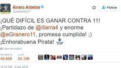 Arbeloa y Piqué se enzarzan en Twitter y acaban discutiendo sobre