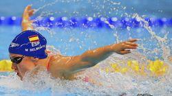 Mireia Belmonte, dos oros y dos récords del mundo en el mismo