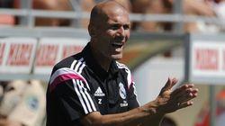 Denuncian a Zidane por entrenar al Madrid Castilla sin la titulación