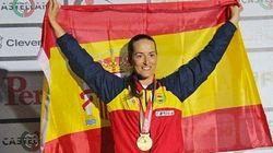 ¡Otra chica de oro!: Fátima Gálvez, campeona del mundo de foso