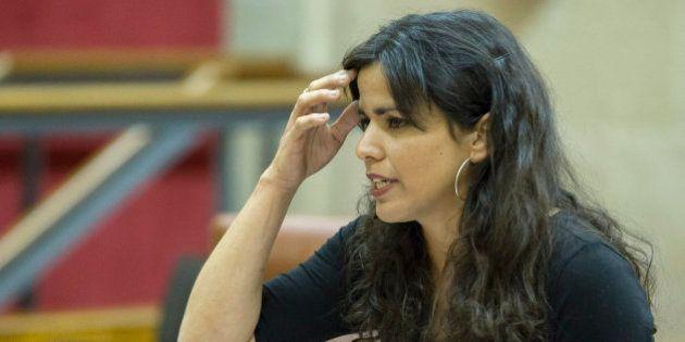 Teresa Rodríguez defiende el 'no' en el referéndum convocado por