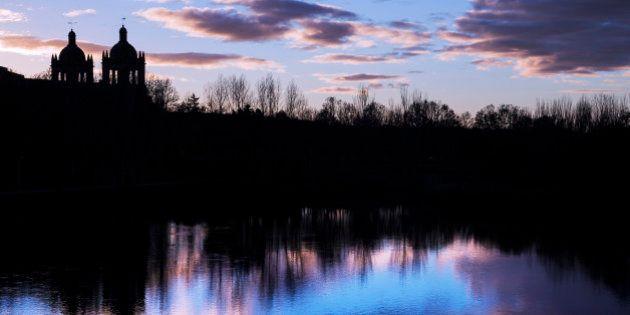 Paisajes reflejados en el agua: las fotos de los