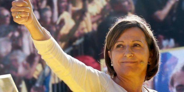 ERC propone a Carmen Forcadell como presidenta del
