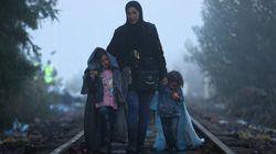 Desesperación en Hungría: los refugiados tratan de cruzar antes del cierre de