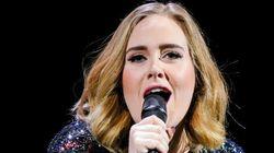 Adele se queda sin sonido... y pasa esto