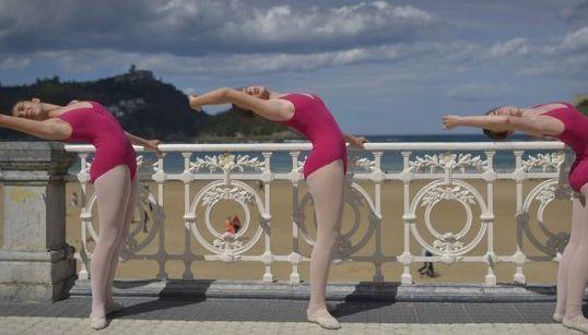La Concha, barra de ballet