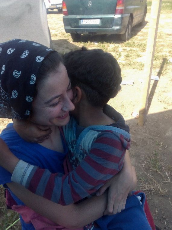 La experiencia de dos voluntarias españolas en Idomeni: