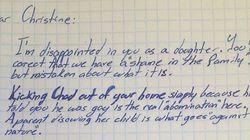 La emocionante carta de apoyo de un abuelo a su nieto