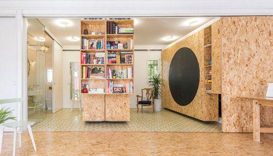 Paredes que se mueven: una solución para casas pequeñas (VÍDEOS,