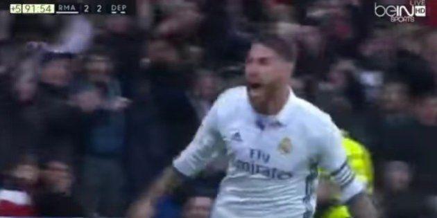 Los milagrosos goles de Sergio Ramos en el