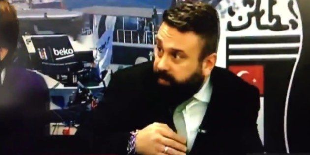 Así se vivió en la televisión del Besiktas el atentado en