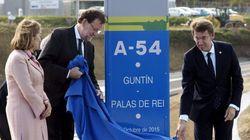 La fiebre 'inauguradora' de Rajoy