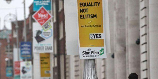 Los irlandeses votan en referéndum en contra de eliminar el