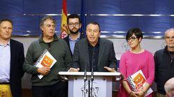 IU y Compromís también suspenden sus reuniones con el